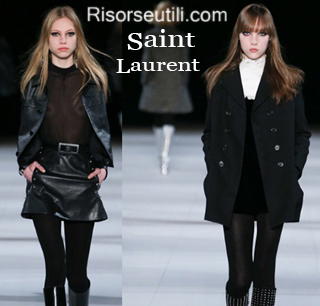 Clothing Saint Laurent fall winter 2014 2015 womenswear