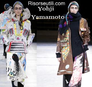Clothing Yohji Yamamoto fall winter 2014 2015 womenswear