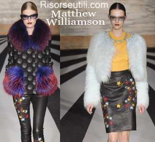 Fashion Matthew Williamson fall winter 2014 2015 womenswear