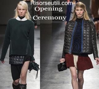 Fashion Opening Ceremony fall winter 2014 2015 womenswear