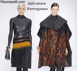 Fashion Salvatore Ferragamo fall winter 2014 2015 womenswear
