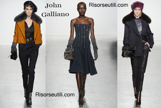 Fashion bags John Galliano and shoes John Galliano