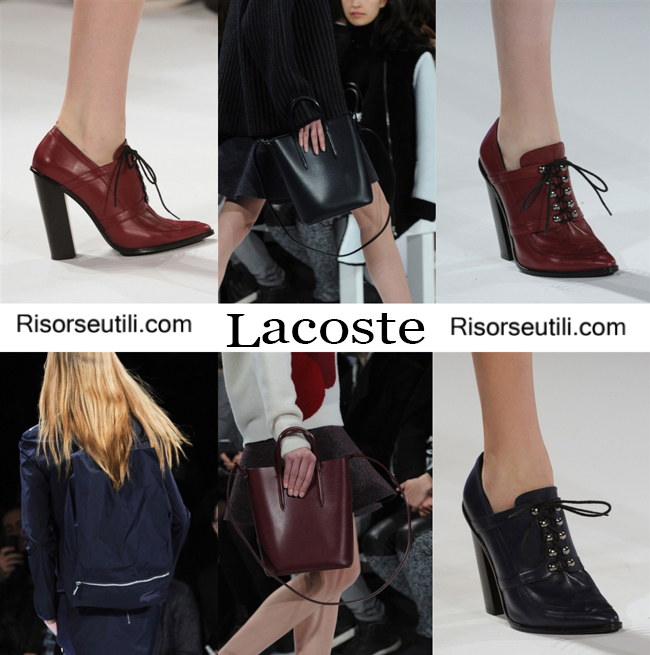 Fashion bags Lacoste and shoes Lacoste