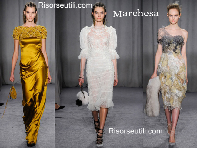 Fashion bags Marchesa and shoes Marchesa