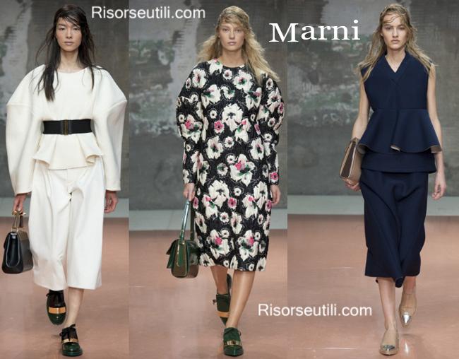 Fashion bags Marni and shoes Marni