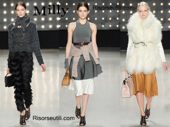 Fashion bags Milly and shoes Milly