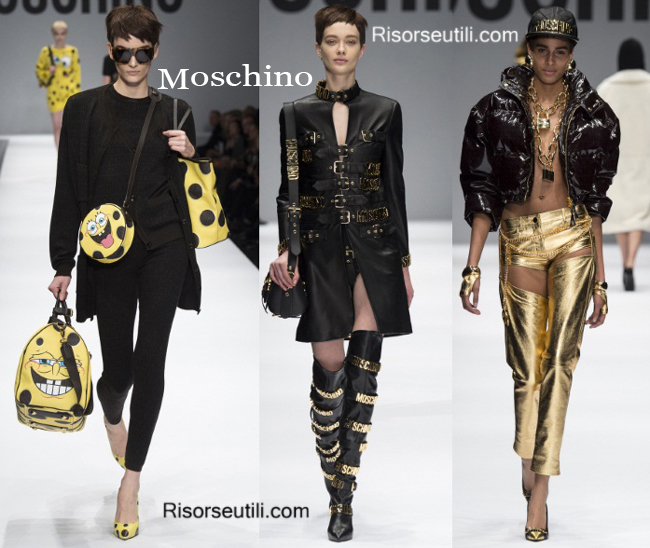Fashion bags Moschino and shoes Moschino