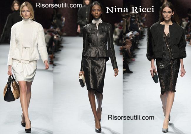 Fashion bags Nina Ricci and shoes Nina Ricci