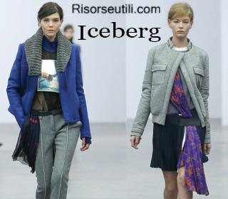 Fashion clothing Iceberg fall winter 2014 2015 womenswear
