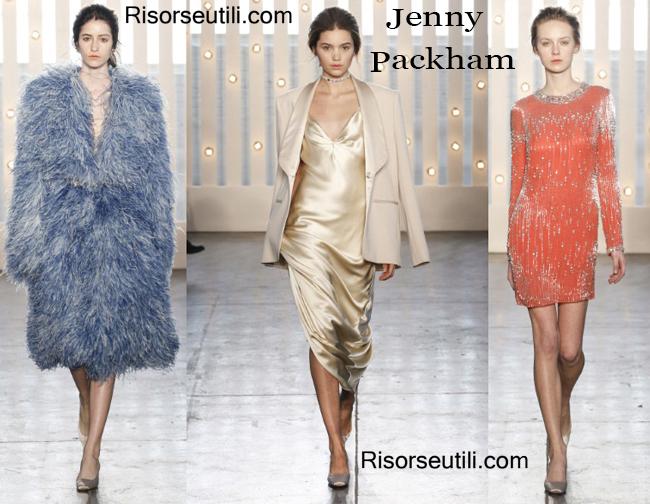 Fashion clothing Jenny Packham fall winter 2014 2015