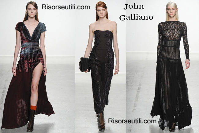 Fashion clothing John Galliano fall winter 2014 2015