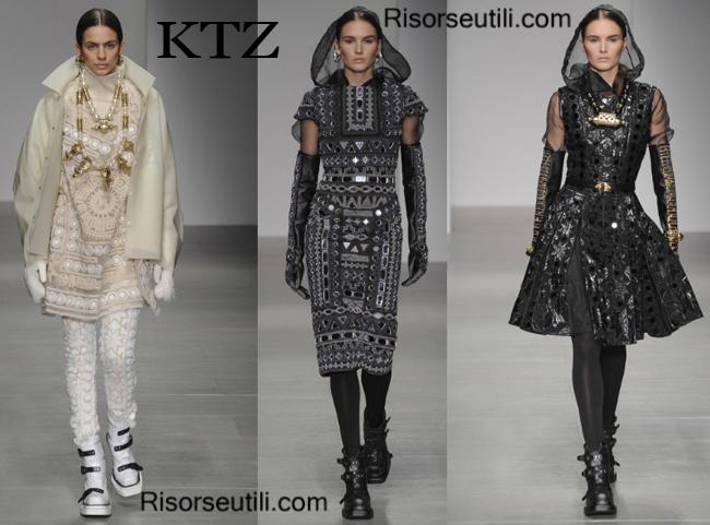 Fashion clothing KTZ fall winter 2014 2015