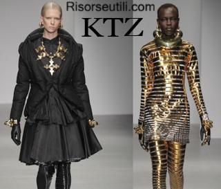 Fashion clothing KTZ fall winter 2014 2015 womenswear