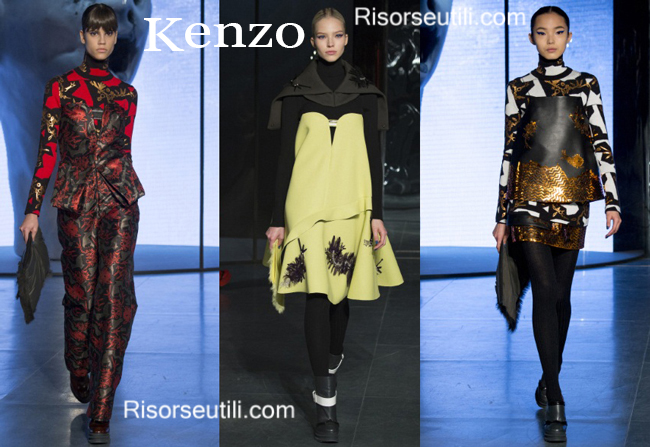Fashion clothing Kenzo fall winter 2014 2015