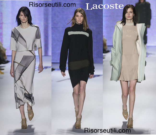 Fashion clothing Lacoste fall winter 2014 2015