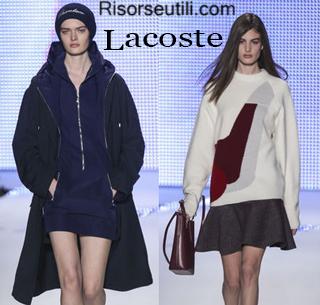 Fashion clothing Lacoste fall winter 2014 2015 womenswear