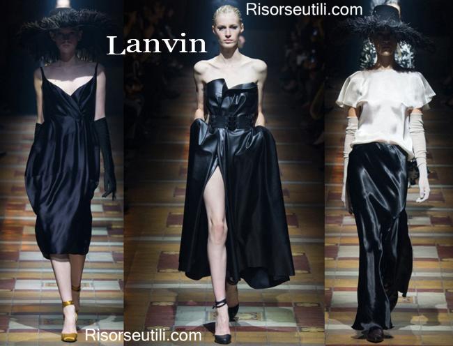Fashion clothing Lanvin fall winter 2014 2015
