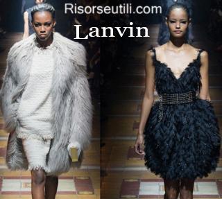 Fashion clothing Lanvin fall winter 2014 2015 womenswear