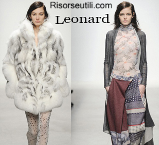 Fashion clothing Leonard fall winter 2014 2015 womenswear