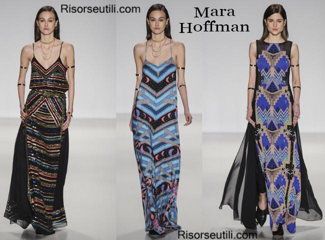 Fashion clothing Mara Hoffman fall winter 2014 2015
