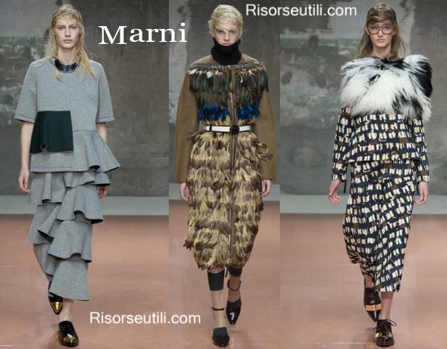 Fashion clothing Marni fall winter 2014 2015