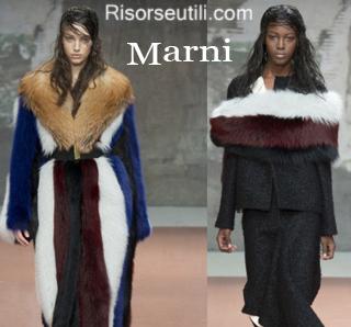 Fashion clothing Marni fall winter 2014 2015 womenswear