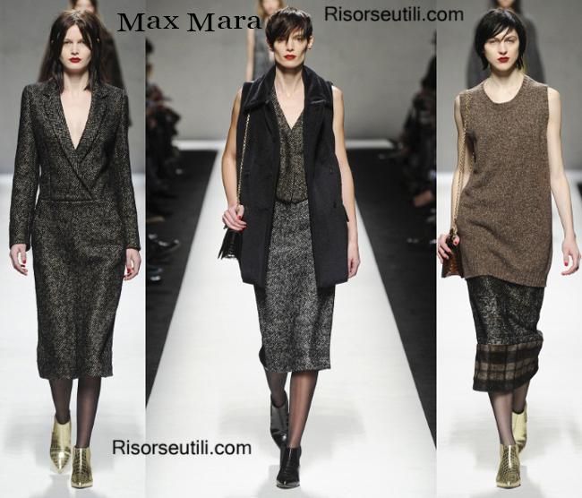 Fashion clothing Max Mara fall winter 2014 2015