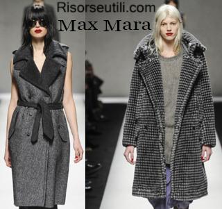 Fashion clothing Max Mara fall winter 2014 2015 womenswear
