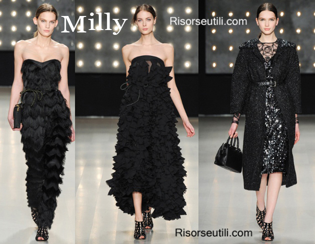Fashion clothing Milly fall winter 2014 2015