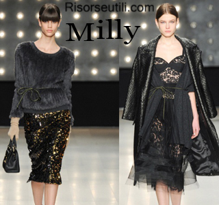 Fashion clothing Milly fall winter 2014 2015 womenswear