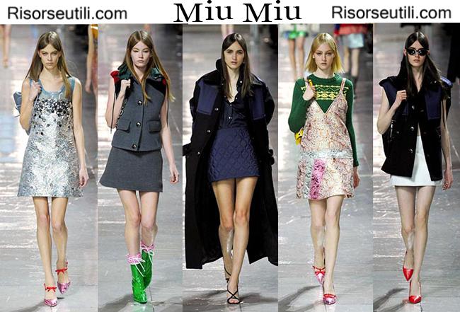 Fashion clothing Miu Miu fall winter 2014 2015
