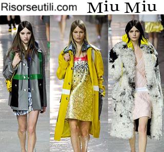Fashion clothing Miu Miu fall winter 2014 2015 womenswear