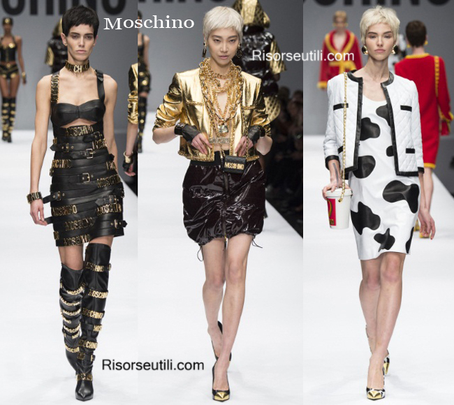 Fashion clothing Moschino fall winter 2014 2015