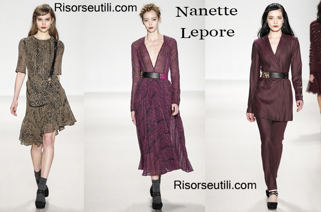 Fashion clothing Nanette Lepore fall winter 2014 2015