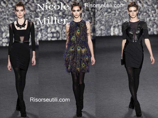 Fashion clothing Nicole Miller fall winter 2014 2015