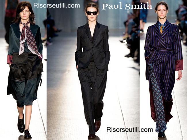 Fashion clothing Paul Smith fall winter 2014 2015