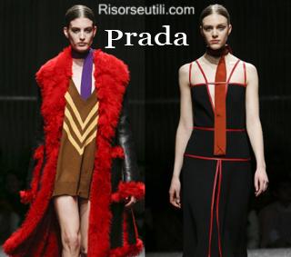 Fashion clothing Prada fall winter 2014 2015 womenswear