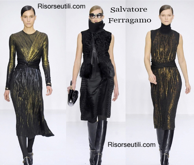 Fashion clothing Salvatore Ferragamo fall winter 2014 2015