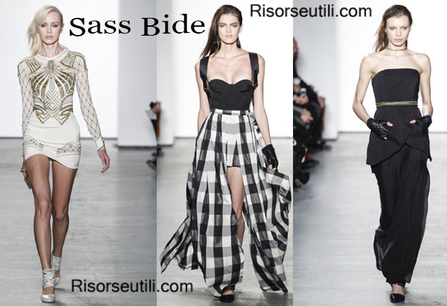 Fashion clothing Sass Bide fall winter 2014 2015