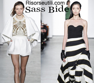Fashion clothing Sass Bide fall winter 2014 2015 womenswear