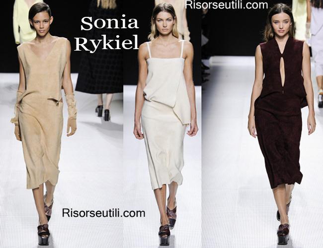 Fashion clothing Sonia Rykiel fall winter 2014 2015