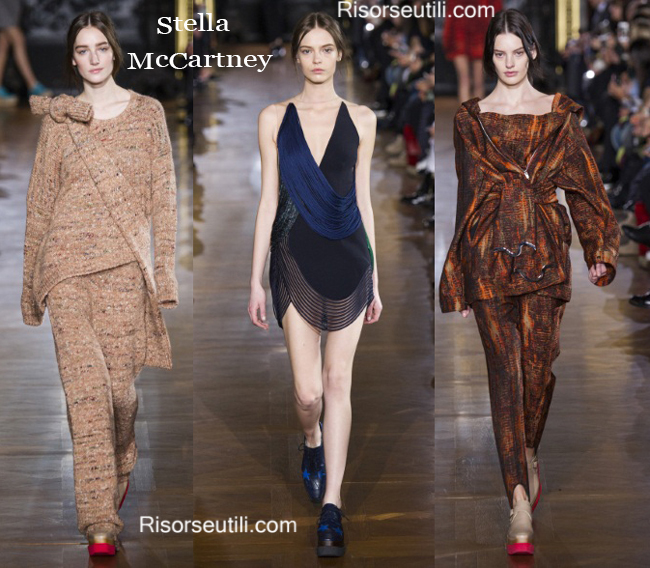 Fashion clothing Stella McCartney fall winter 2014 2015