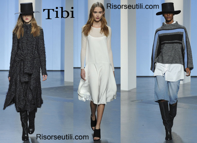 Fashion clothing Tibi fall winter 2014 2015