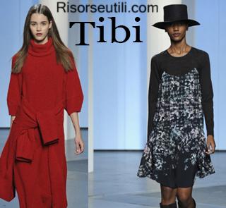 Fashion clothing Tibi fall winter 2014 2015 womenswear