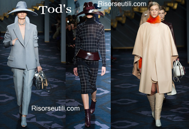 Fashion clothing Tods fall winter 2014 2015