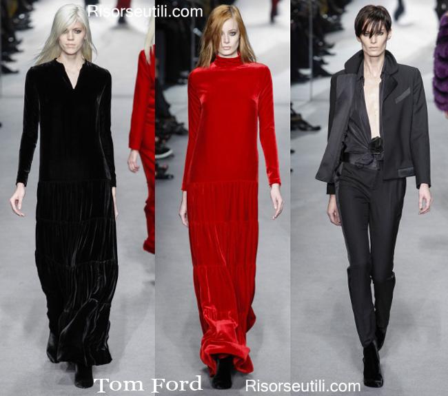 Fashion clothing Tom Ford fall winter 2014 2015