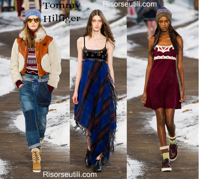 Fashion clothing Tommy Hilfiger fall winter 2014 2015