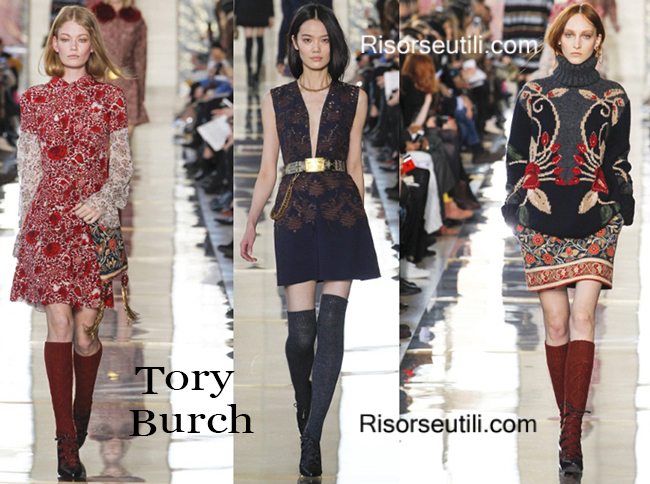 Fashion clothing Tory Burch fall winter 2014 2015
