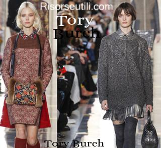 Fashion clothing Tory Burch fall winter 2014 2015 womenswear