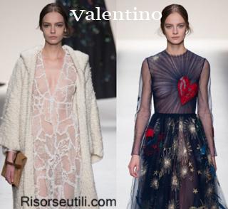 Fashion clothing Valentino fall winter 2014 2015 womenswear